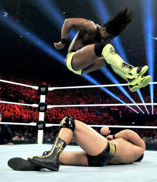 Exclusive: Wale Interviews Kofi Kingston About Wrestling in Sneakers in the WWE news