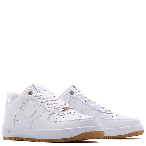 sports shoes 58e55 a8820 ... nike lunar force 1 qs white hot Built around a premium white leather  base, the Swoosh and heel branding have a synthetic ...