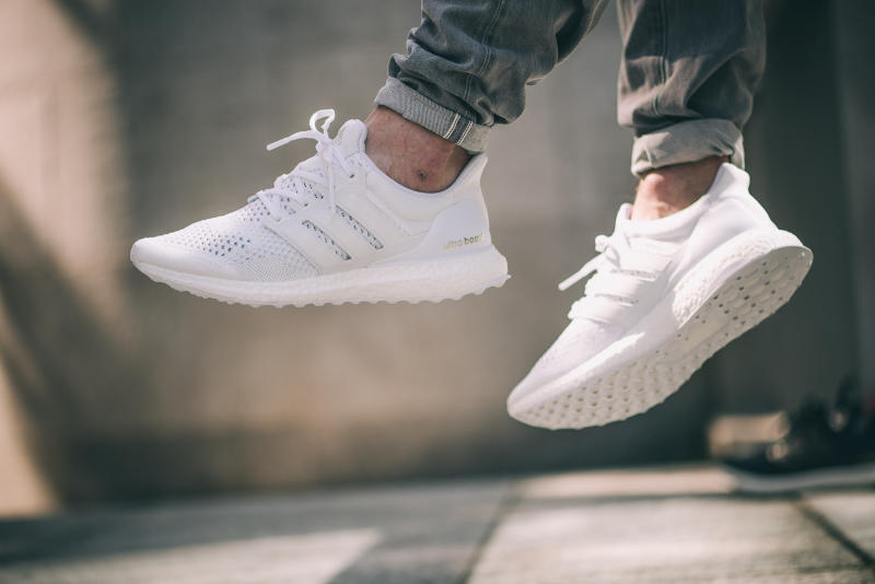 Adidas Ultra Boost White J&D