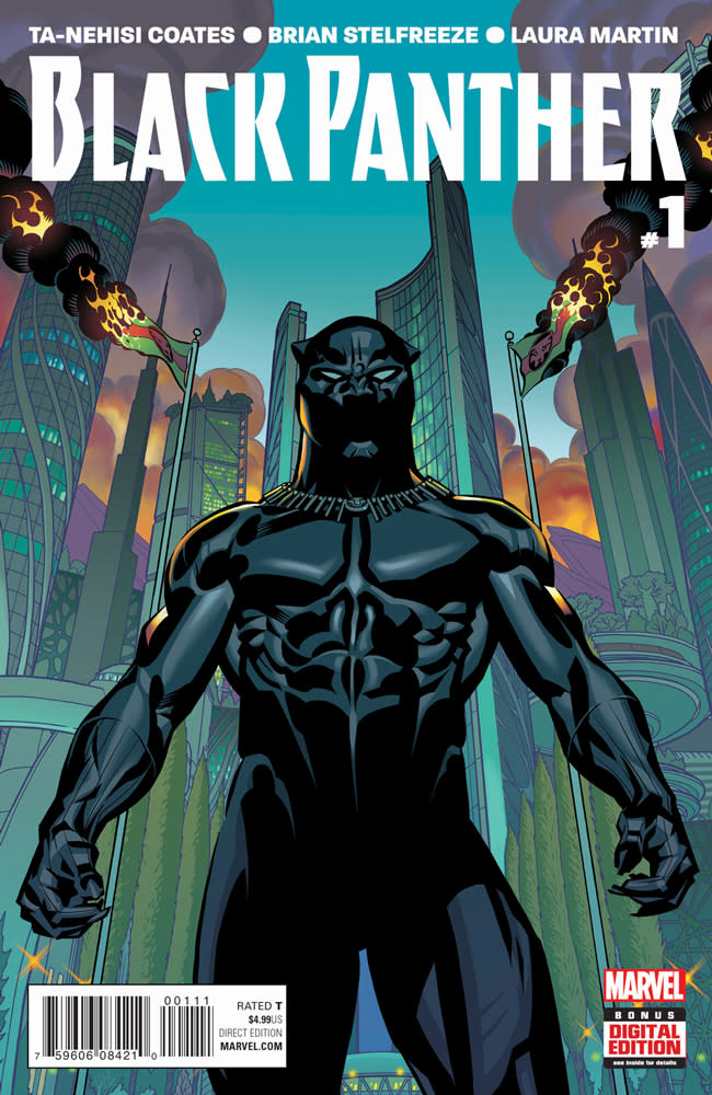 Black Panther by Ta-Nehisi Coates