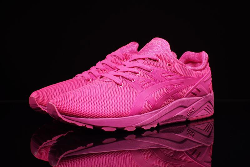 asics gel kayano evo pink
