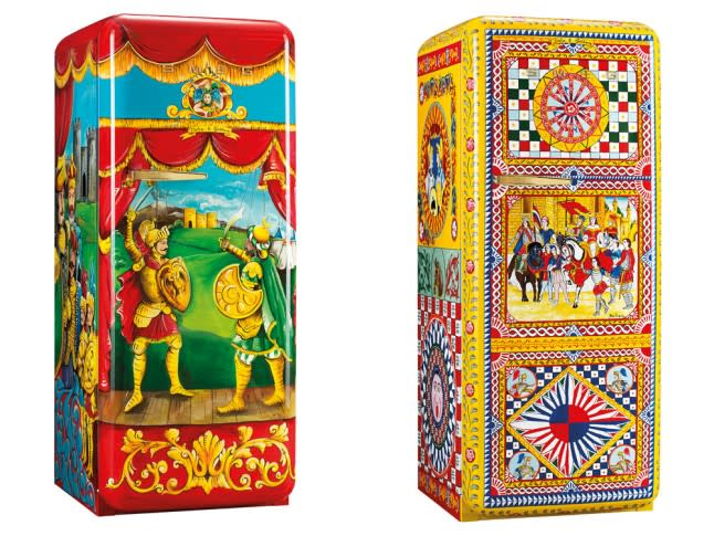 Buying dolce gabbana 39 s new refrigerator will leave you for Smeg dolce e gabbana