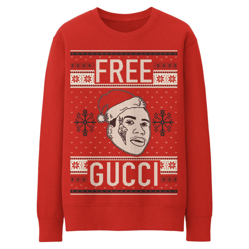This 'Free Gucci' Sweater Is the Only Ugly Christmas Sweater You ...