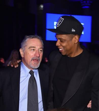 Jay Z and Robert De Niro are Pals Again news