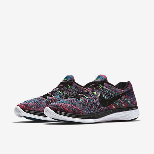 kicks of the day nike flyknit lunar 3 multicolor complex. Black Bedroom Furniture Sets. Home Design Ideas