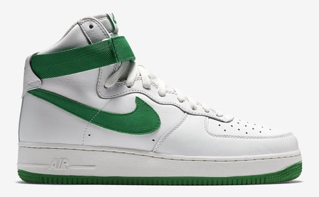 air force one white and green