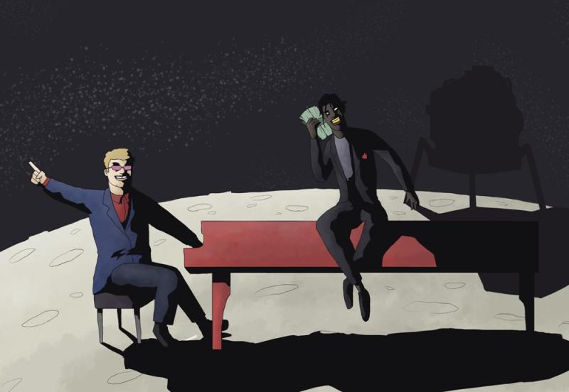 "The Sunday Comic: Elton John f/ Young Thug ""Rocket Man (Remix)"" news"