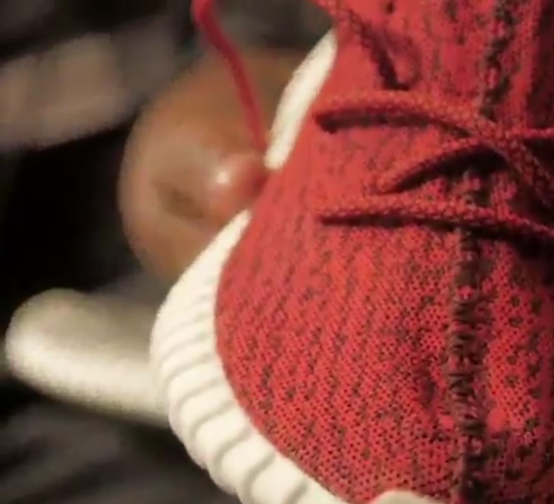 Yeezy 350 Boost Red