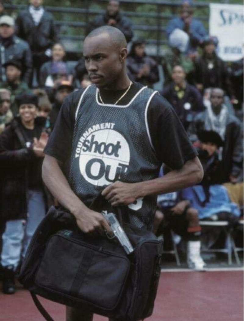Russell Westbrook Wears the Tournament Shootout Jersey From 'Above the Rim' | Complex