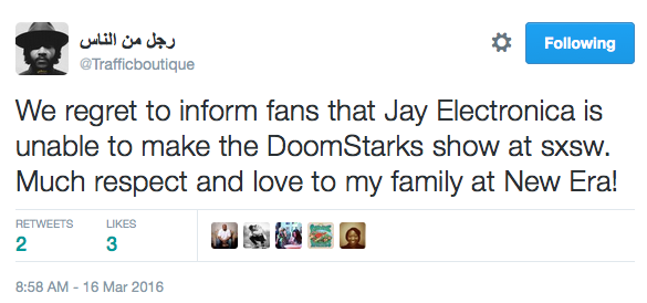 Jay Electronica Played Himself news