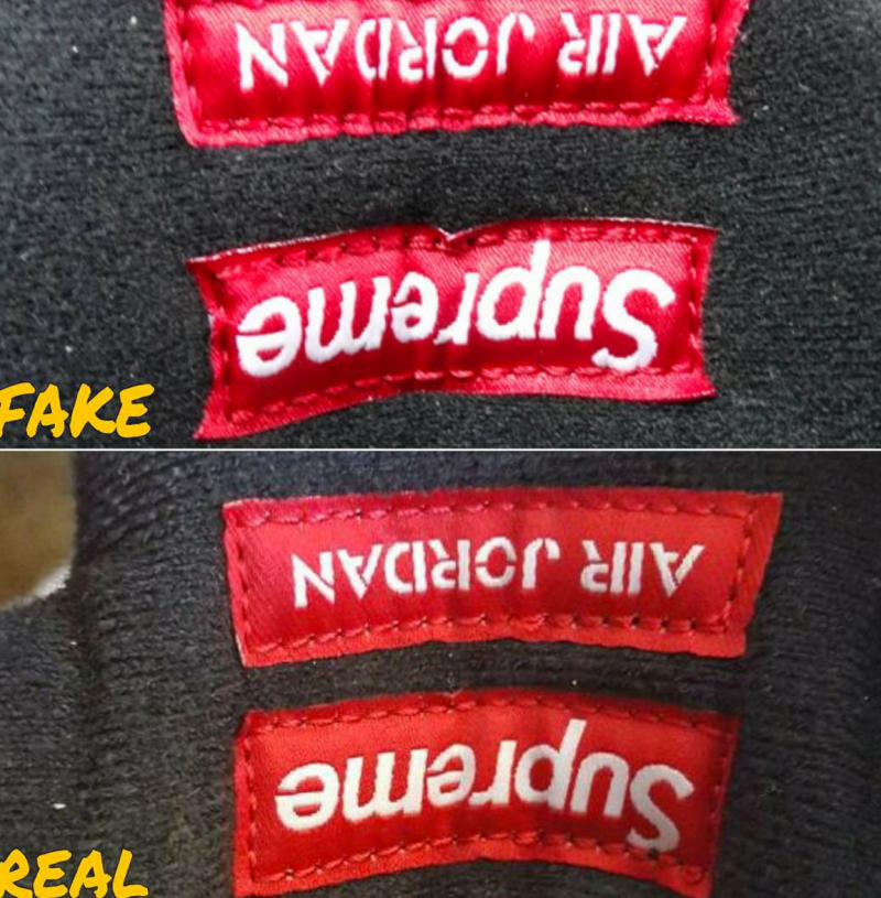 e6ac32046b2 Fake Supreme Jordan Hoodie