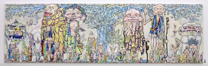Exhibition Display Board : Takashi murakami kicks off the summer with a solo