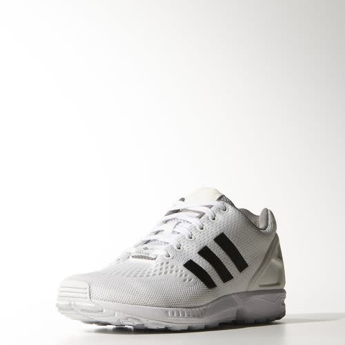 Adidas Zx Flux White With Black Stripes