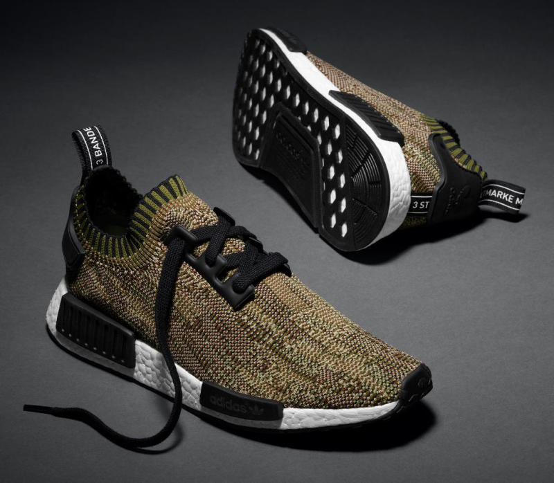 Adidas BB 2884 NMD R1 Glitch Camo Pack Low Mens Running Shoe