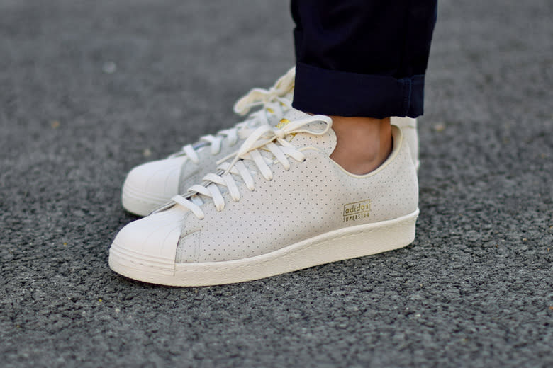 adidas 80s superstar clean white