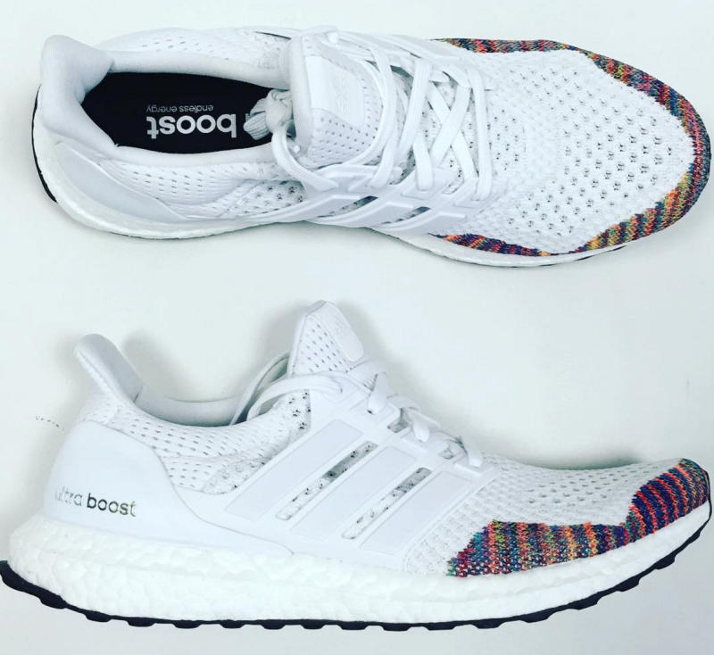 Adidas Ultra Boost White Multicolor