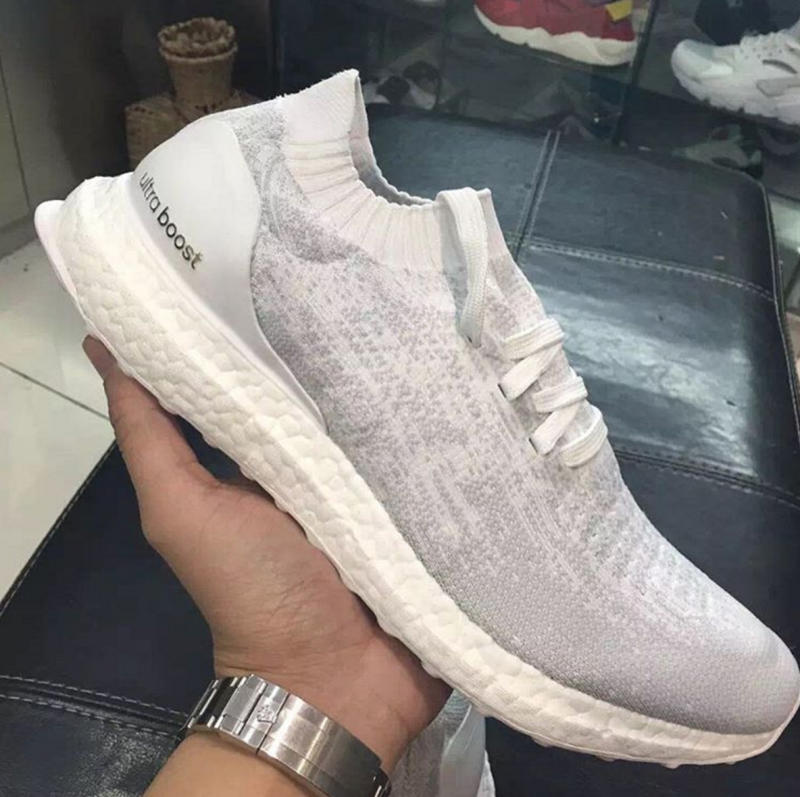 Adidas Ultra Boost Uncaged White On Feet