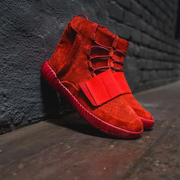 Adidas Yeezy Boost 750 Red