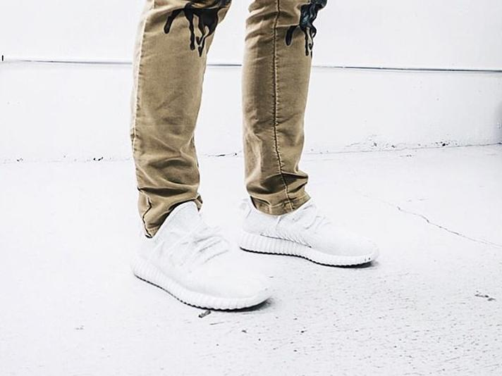 Adidas Yeezy All White