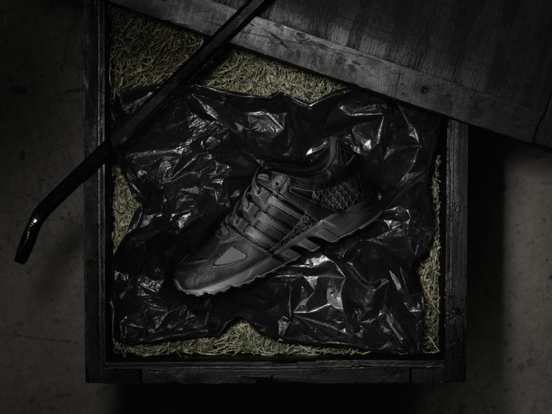 Adidas Pusha T King Push EQT Gray Scale
