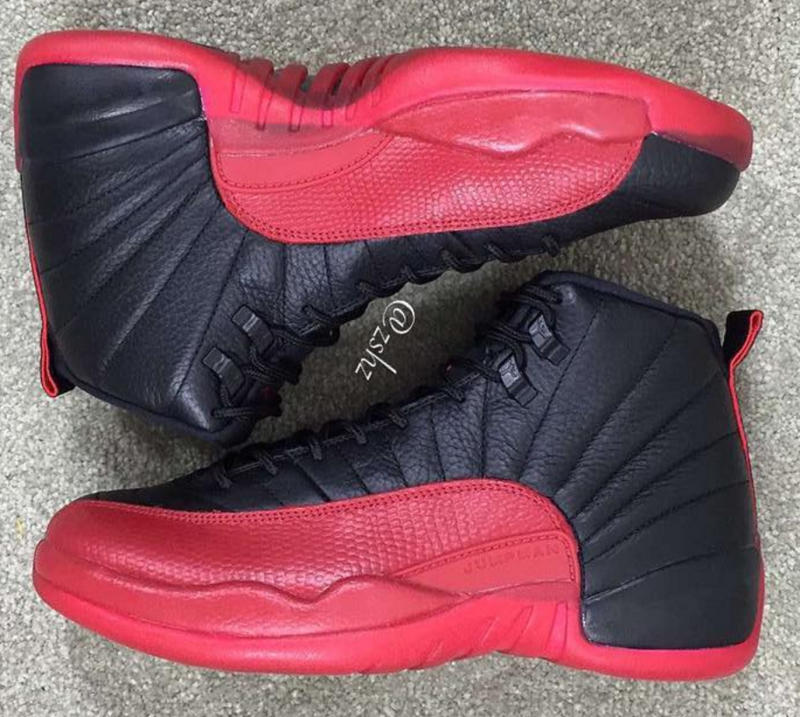 air jordan 12 black red