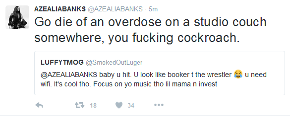 Lex Luger Claims Azealia Banks Is Too Broke to Buy His Beats news