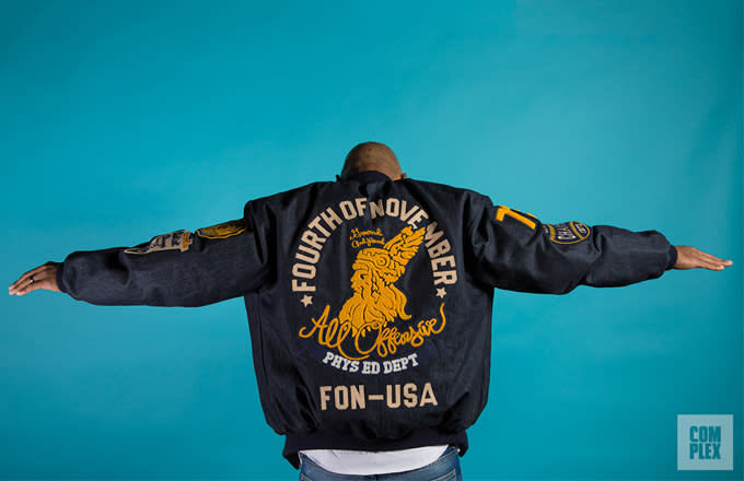 """Interview: Roc A Fella Records Co Founder Kareem """"Biggs"""" Talks His New Fourth of November Clothing Line news"""
