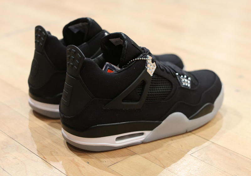 buy popular 4b5de cf825 The Eminem x Carhartt x Air Jordan IV Was Spotted at Sneaker ...