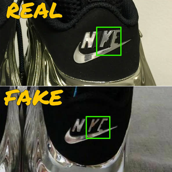 Nike Uptempo Fake Vs Real