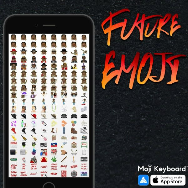 """Future Now Has His Own Emojis Pack Including One Inspired by His """"Thumb in Her Butt"""" Lyric news"""