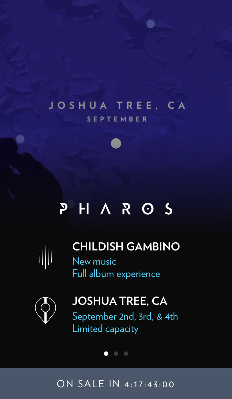 Donald Glover Releases 'Pharos' Project news