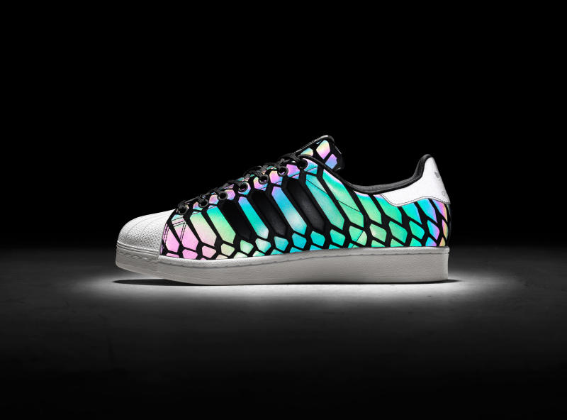 adidas superstar with led