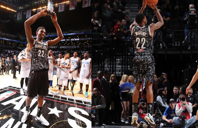 Andrew Wiggins Debuts Adidas Signature Basketball Model