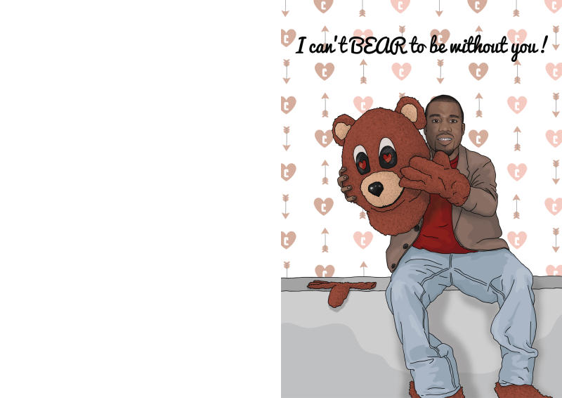 Kanye West Valentine S Day Cards Complex