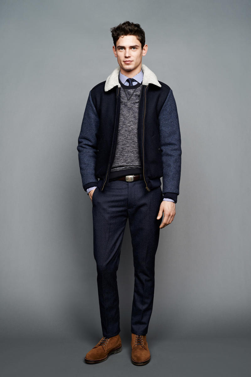 J Crew Shows Its Fall Winter 2015 Collection Complex
