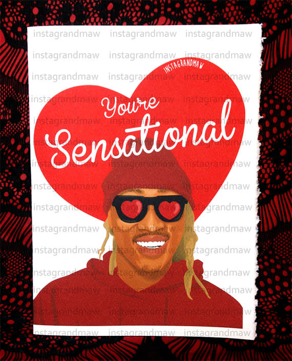 Instagrandmaw Is Back with Some Dope Valentines Day Cards – Valentine Cards for Her