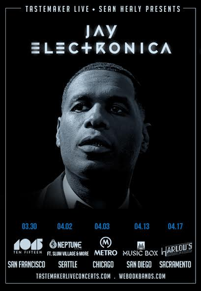 Jay Electronica Is Going on a North American Tour news