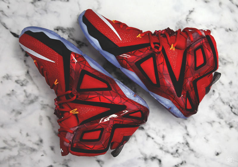 pretty nice 4595d c1714 Here's Your Best Look Yet at the Nike LeBron 12 Elite