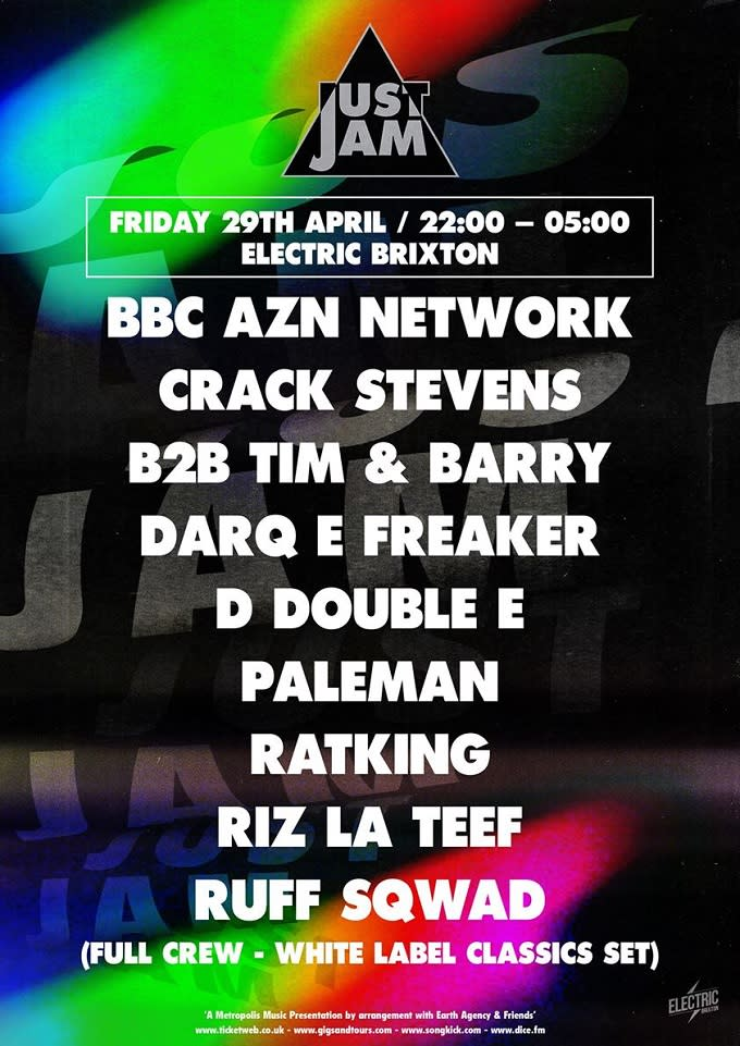 Just Jam Announce Show At Electric Brixton With Ruff Sqwad, Ratking, D Double E And More news