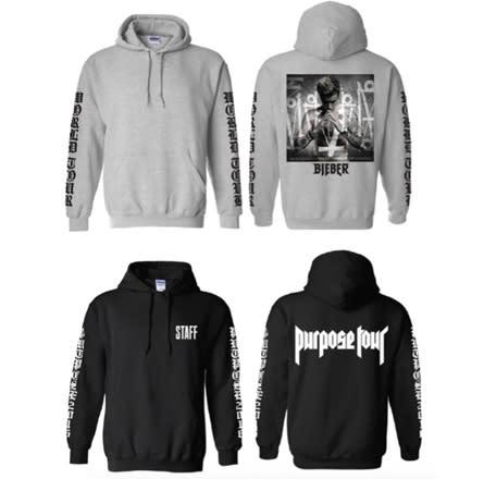 Justin Bieber 'Purpose' Tour Merch Exclusive First Look ... - photo #9