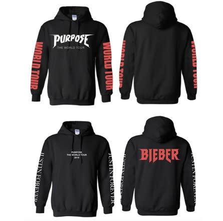 Justin Bieber 'Purpose' Tour Merch Exclusive First Look ... - photo #29