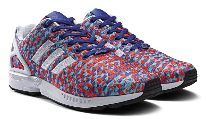 huge discount 17a3e 8c726 adidas zx flux red prism