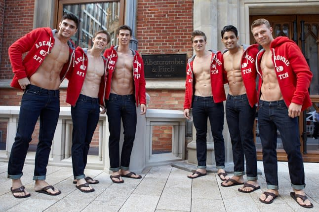 Abercrombie & Fitch Is Getting Rid of Shirtless Models | Complex