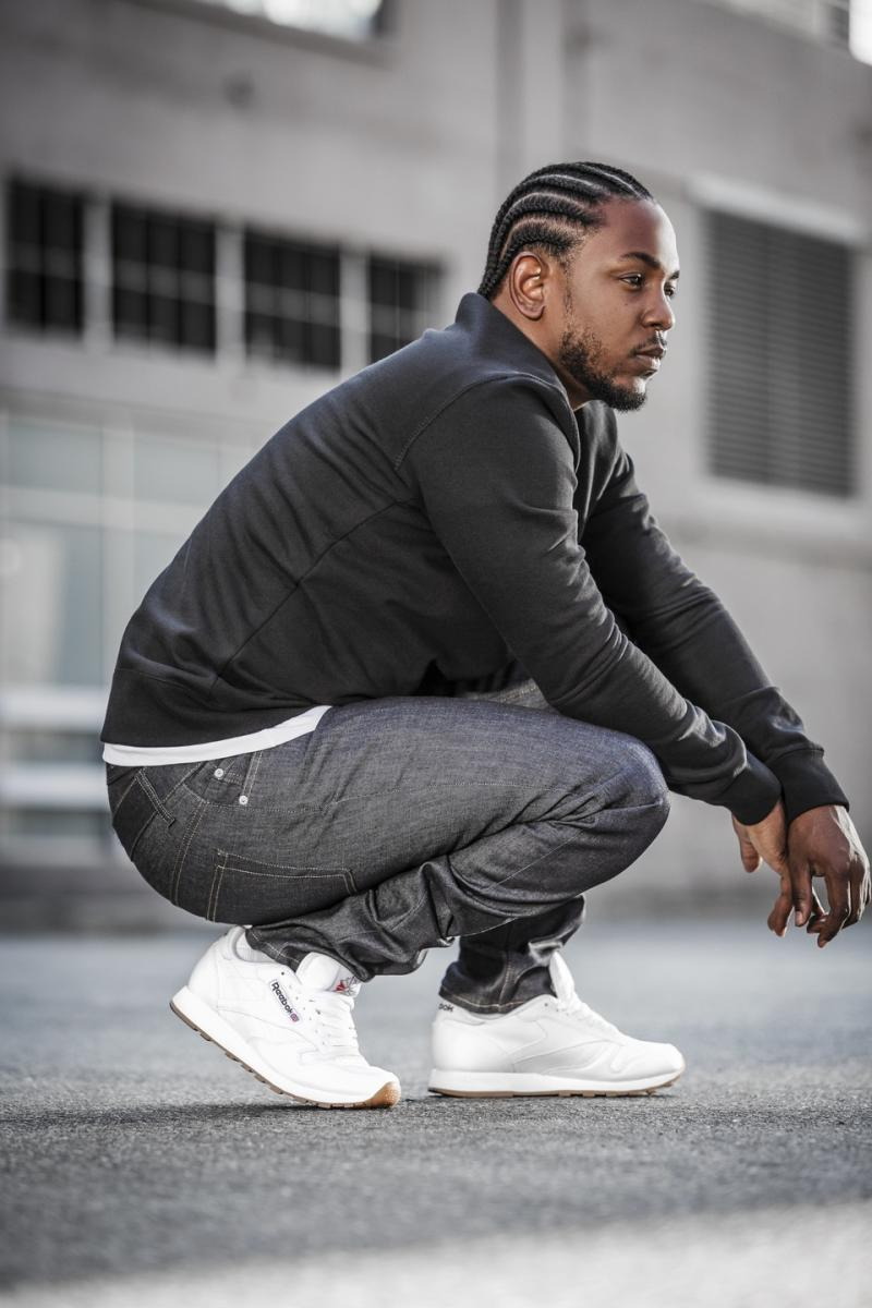 reebok taps kendrick lamar for classic leather retro. Black Bedroom Furniture Sets. Home Design Ideas