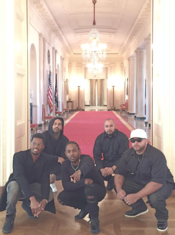 rappers who have visited the white house