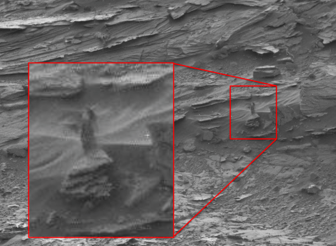 Photo From Mars... Ghosts Caught On Camera 2017