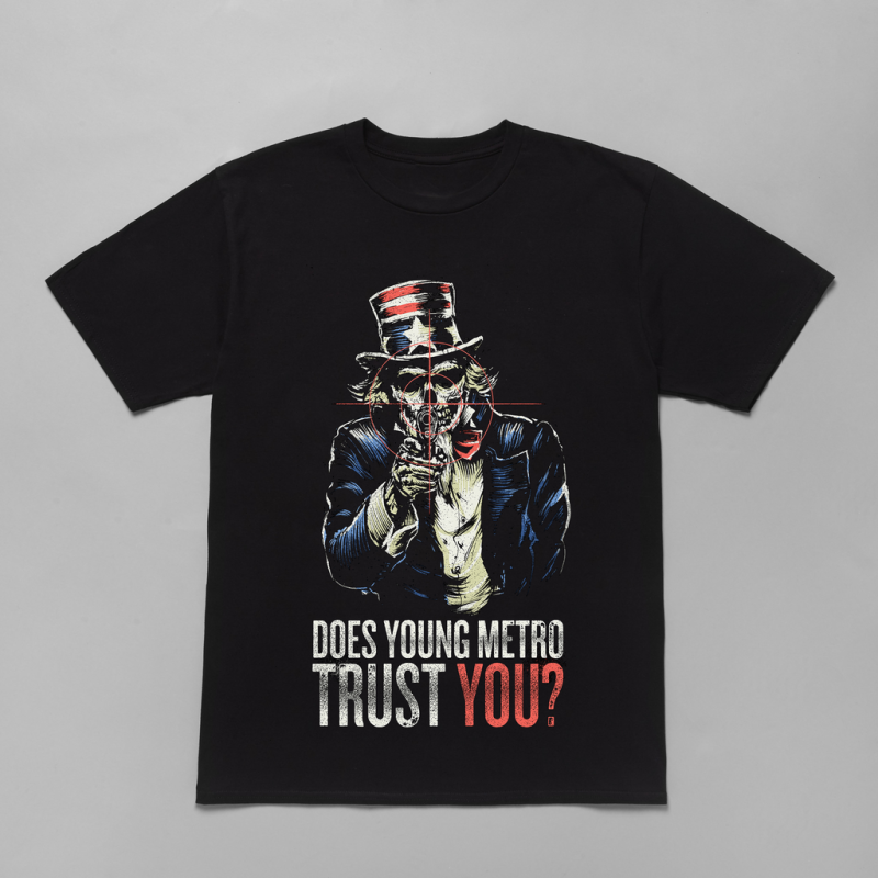 "Metro Boomin Releases ""Does Young Metro Trust You?"" Merch news"