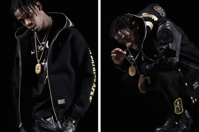 Travi Scott Stars In The Official Lookbook For A Bathing