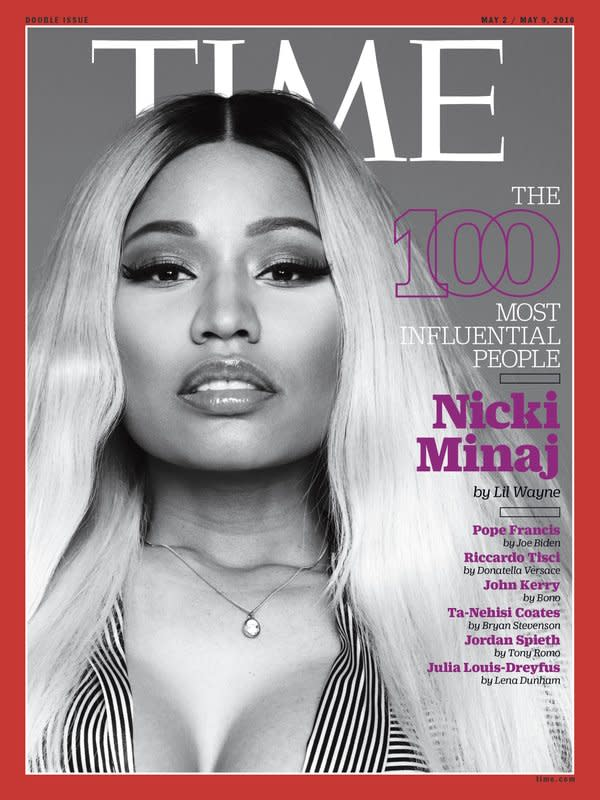 Lil Wayne Pens a Touching Letter About Nicki Minaj for Her TIME Magazine Cover news