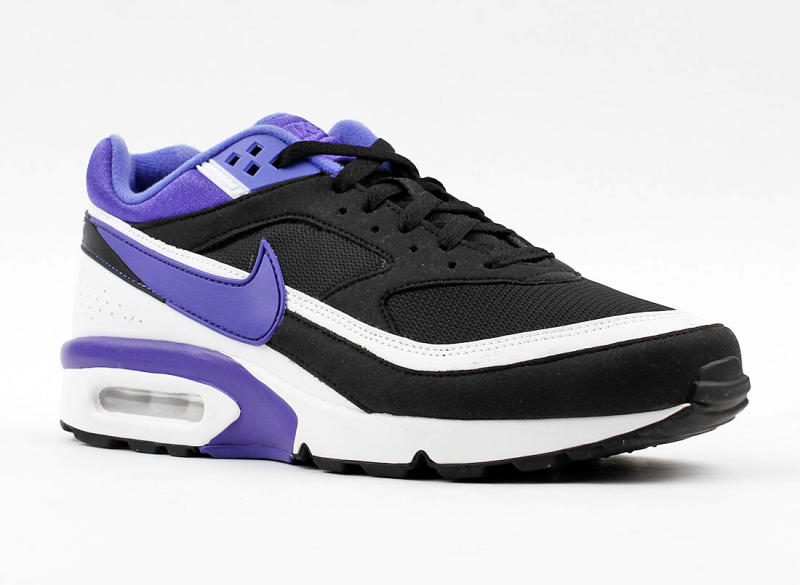 nike air max classic bw black persian violet